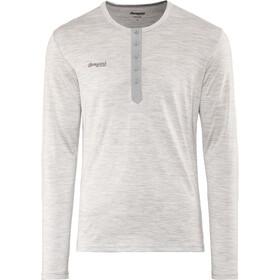Bergans Henley Wool Shirt Herren grey melange